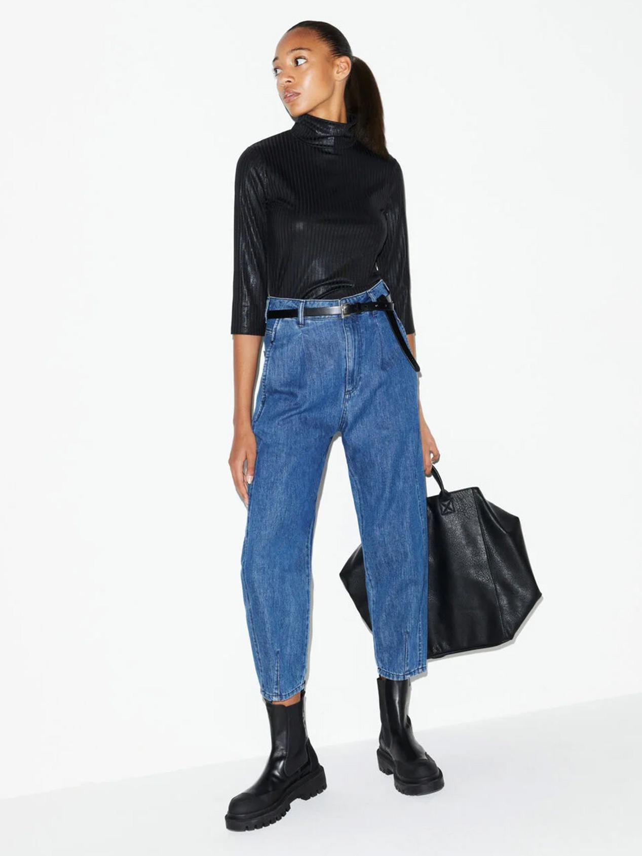 Jeans Barrel Leg Damen