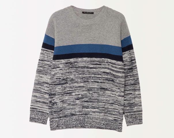 Pullover mit Farbblöcken