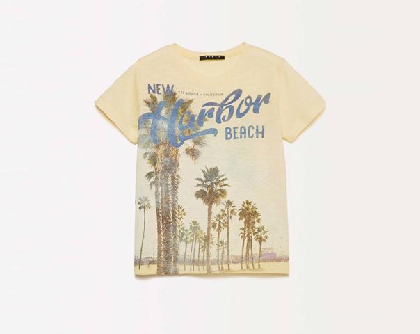 T-Shirt mit Maxi-Print