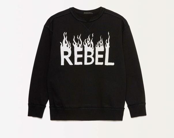 Sweatshirt mit Lettering