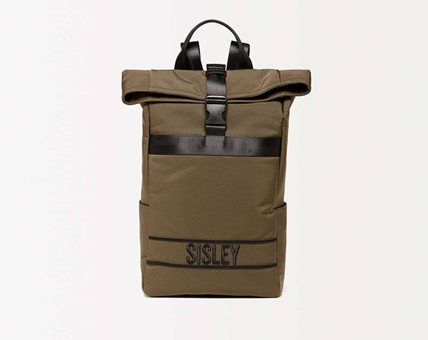 Rucksack aus Nylon mit Logo